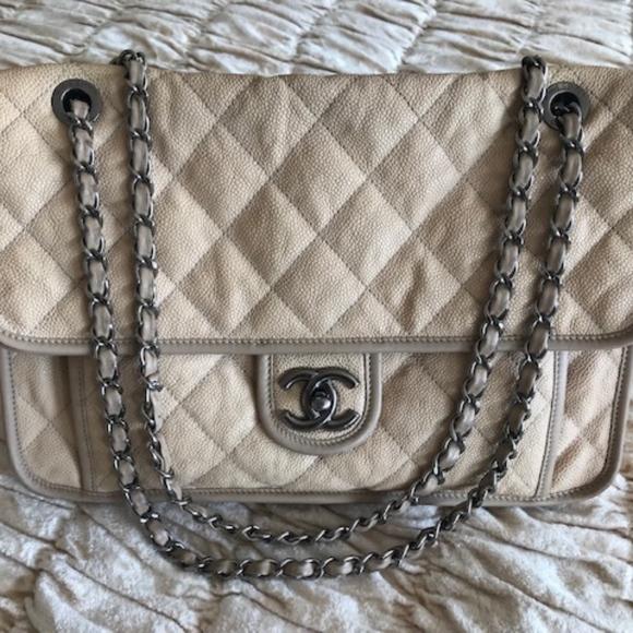 168670bf6b CHANEL Handbags - AUTHENTIC CHANEL FRENCH RIVIERA CLASSIC FLAP BAG